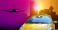 Yellow Cab, Vancouver Taxi Service, Vancouver Taxi Cab, Airport Shuttle